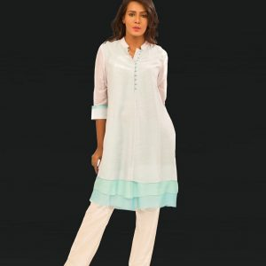 Cotton Silk Three Layer Tunic